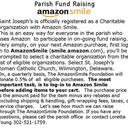 Amazon Smile Fund Raising