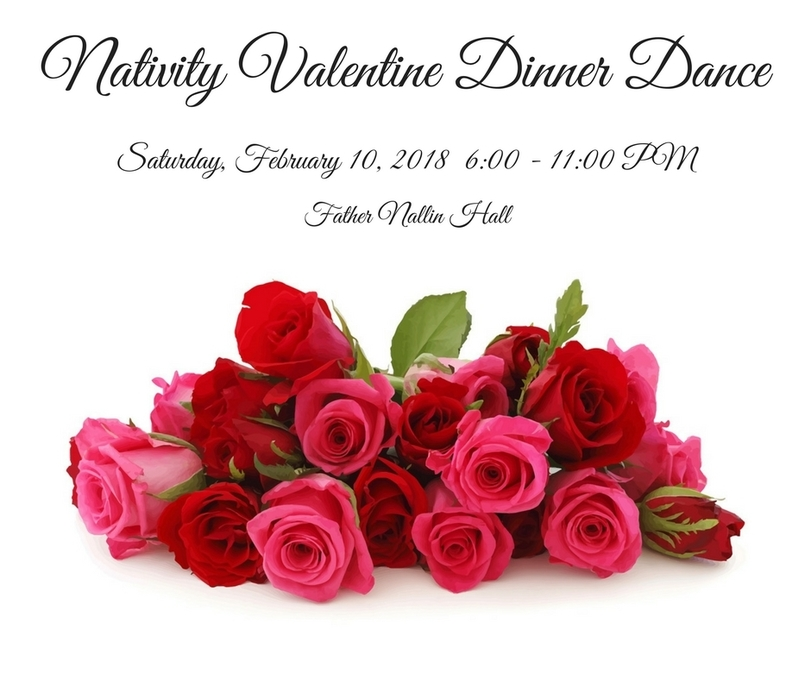 Nativity Valentine S Day Dinner Dance Nativity Of The Blessed