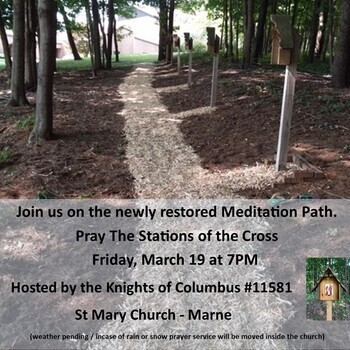 OUTDOOR Stations of the Cross @ St. Mary's