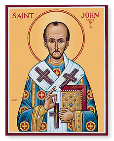 Saint of the Week: St. John Chrysostom