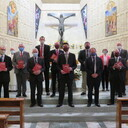 Nine First Year students receive the Ministry of Lector