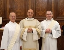 Beda Student Ordained Deacon
