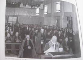 Pope John XXIII in the chapel