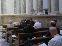 Induction Begins at St Paul's Tomb