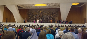 Papal Audience brings Induction to a close