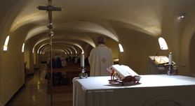 Mass at the Tomb of St Peter