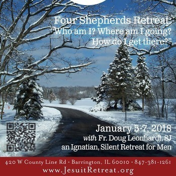 "Four Shepherds Retreat: ""Who am I? Where am I going? How do I get there?"""