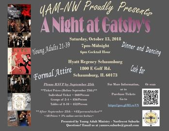 YAM-NW Proudly Presents - A Night at Gatsby's: A Flashback to the Roaring 20s