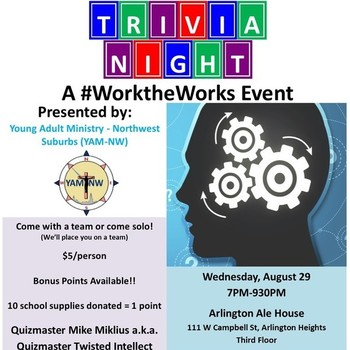 Young Adult Event: #WorktheWorks Trivia Night!