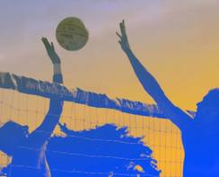 Young Adult Ministry Volleyball!!! Join the team now :-)