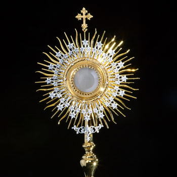 Visiting Monstrance - St.Edna - Arlington Heights