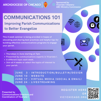 Communications 101 - ZOOM Meeting every Thursday evening in June