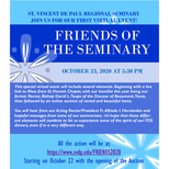 Friends of the Seminary Virtual Event