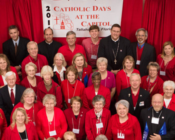 Catholic Days at the Capitol held in Tallahasee Tues. and Wed.