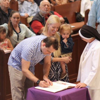 Rite of the Election at the Cathedral of the Sacred Heart, Pensacola
