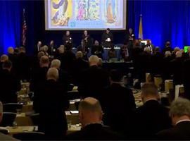 United States Conference of Catholic Bishops Meeting in Baltimore for Fall General Assembly