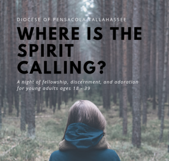 Where is the Spirit Calling?- Event for Young Adults