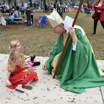 Mass on the Grass With Bishop William Wack
