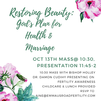 Restoring Beauty: God's Plan for Health and Marriage