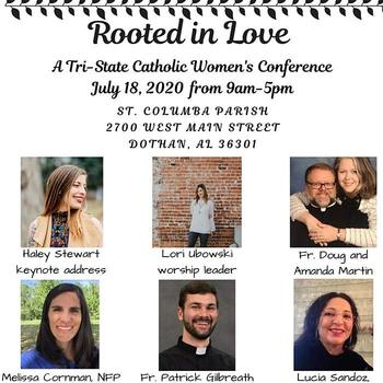 Rooted in Love Catholic Women's Conference