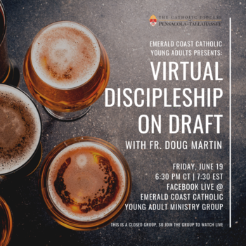 Virtual Discipleship on Draft