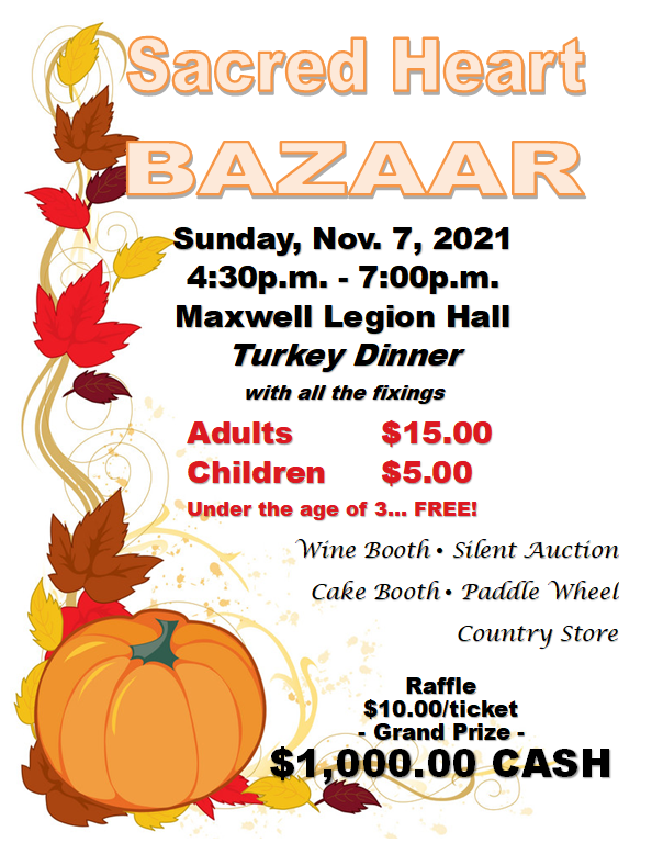 Join us at the Bazaar!