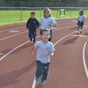 Students walk, play to raise funds for school