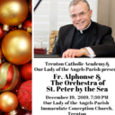 Father Stephenson, St. Peter by the Sea orchestra to perform holiday concerts in Diocese