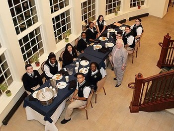 TCA Students serve at the Mount Carmel Guild Gala