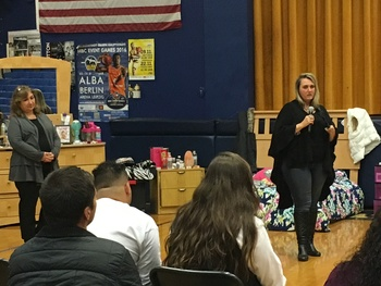 Opioid abuse talk at Trenton Catholic Academy offers sobering statistics