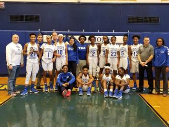 TCA girls basketball wins ESCIT with defensive intensity