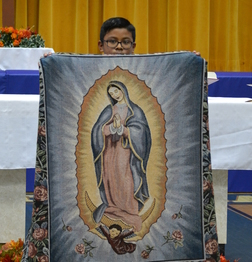 Guadalupe Torch arrives!