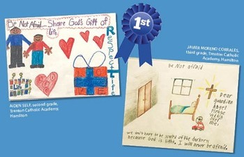 Diocesan Respect Life Ministry announces contest winners in poster, essay, meme categories