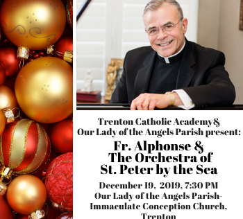 Father Alphonse Christmas Concert 2020 Father Stephenson, St. Peter by the Sea orchestra to perform