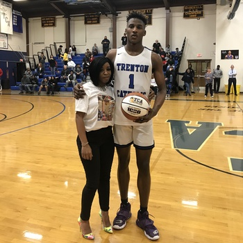 Jamir Watkins scores his 1,000th point in dominant showing