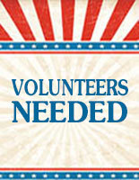 Volunteers Needed - July 4th Food Drive