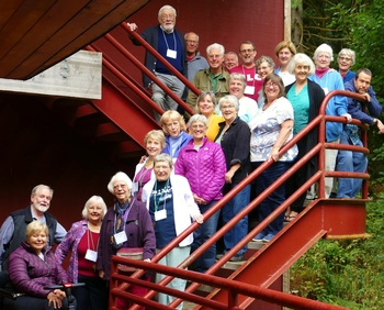 Fr. Larry Gooley SJ Leads CLC Northwest Region's Annual Retreat