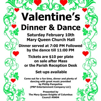 Knights of Columbus Valentine's Dinner & Dance