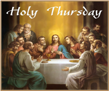 Holy Thursday Offering - Remember the Poor & Homeless