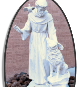 Mary Queen Feast of St. Francis of Assisi Celebration
