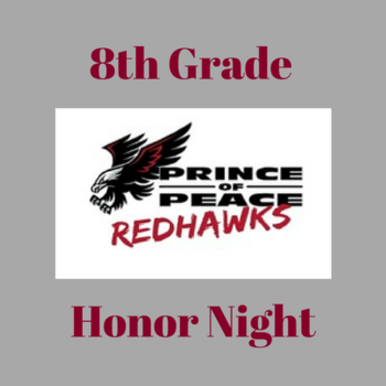 8th grade Girls Volleyball Honor Night