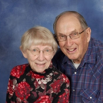 Happy 65th Anniversary Jim & Alberta Linder