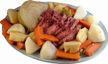 Corned Beef & Cabbage Dinner @ Sacred Heart in Almena March 11
