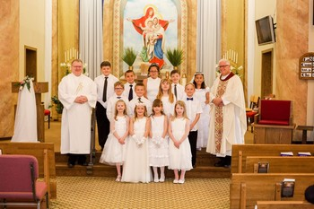 May 4, 2019 1st Communion at St Ann