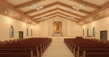 Worship Space Rendering