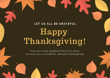 Happy Thanksgiving from GSS to your family!