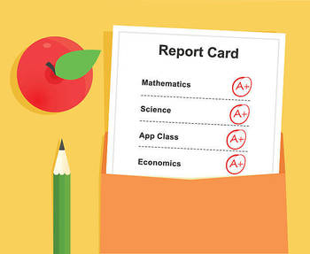 Report Card Distribution Day Feb 4th