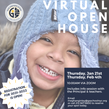 NEW! Virtual Open House Dates!
