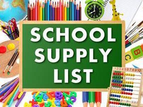 Looking for Summer Assignments or School Supply Lists?