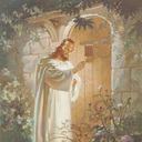 Be ready to open the door as soon as He comes and knocks